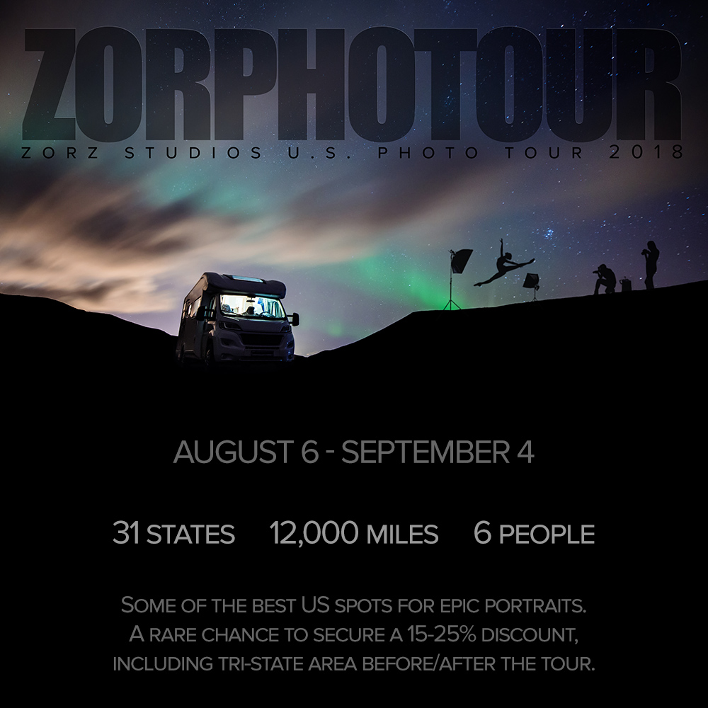 ZORPHOTOUR: Zorz Studios US Photo Tour 2018 (1)