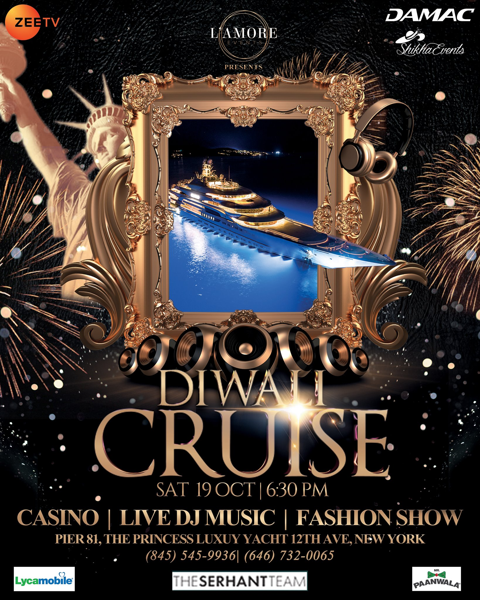 Diwali Cruise 2019 with Zorz Studios