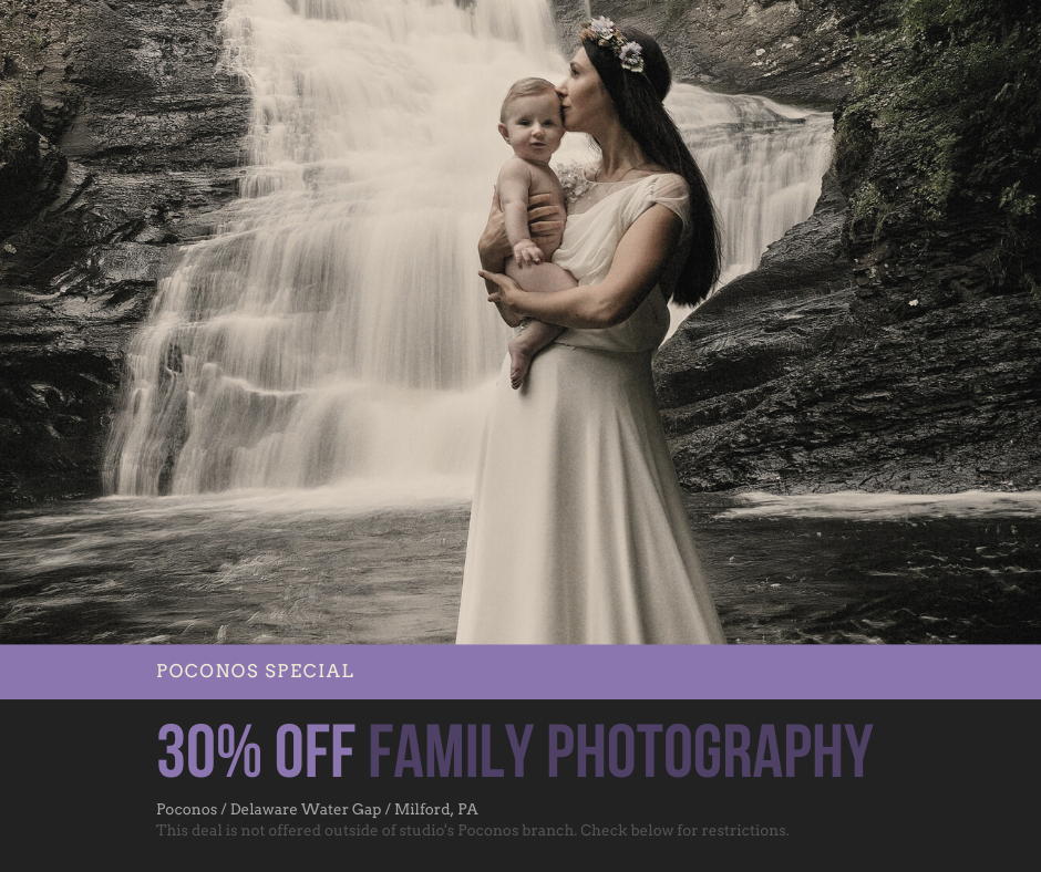 Poconos Family Photography Special