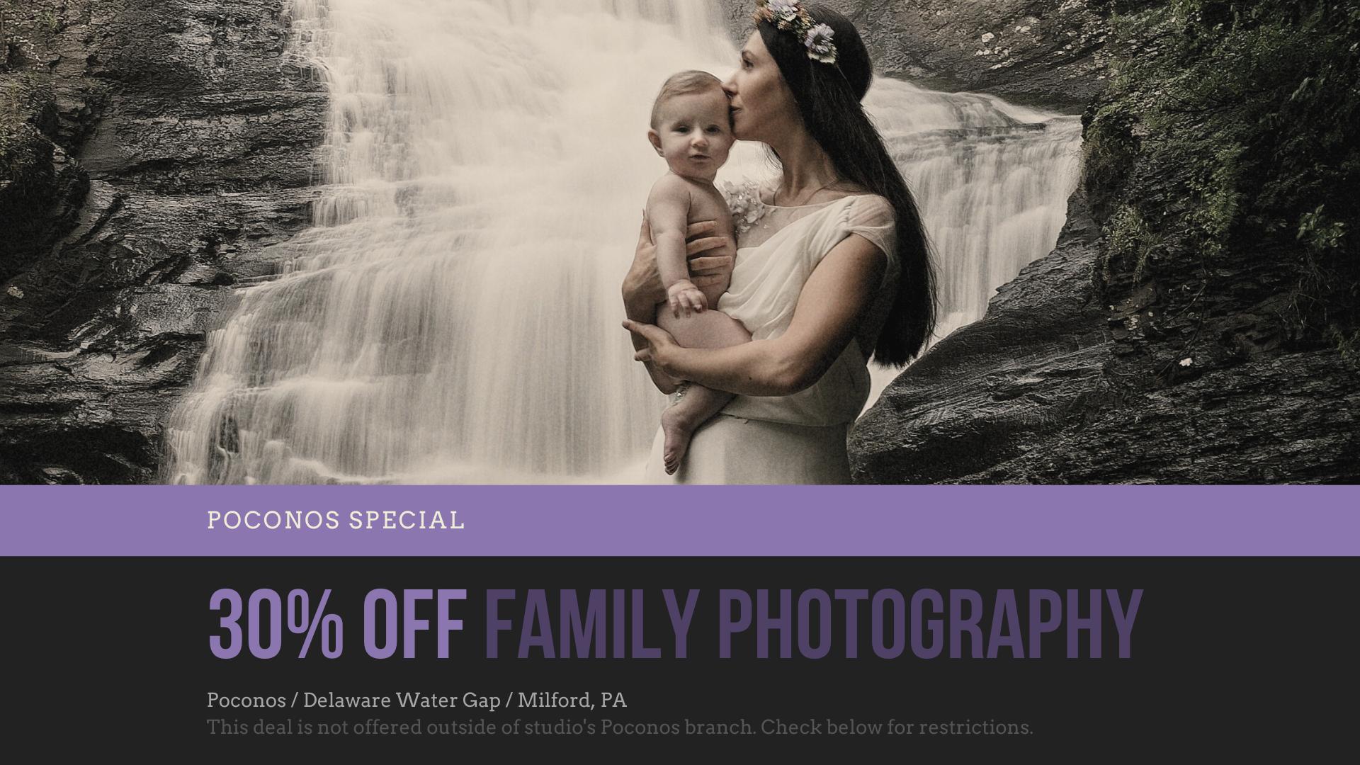 Poconos Family Photography Special