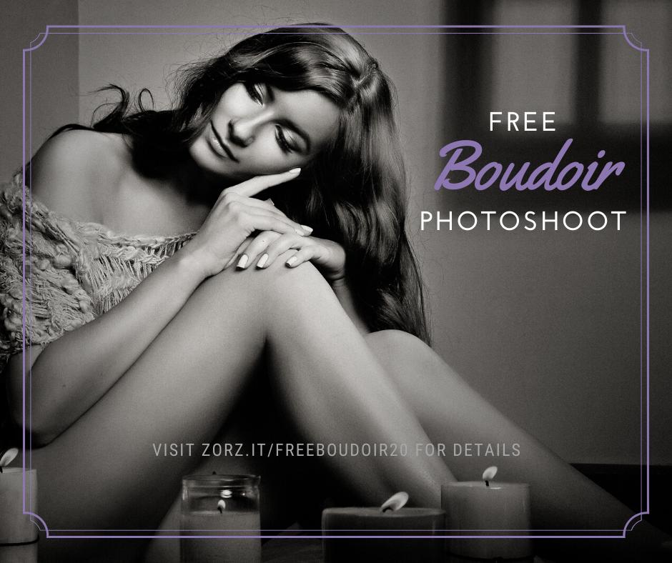 Free Boudoir Photoshoot 2020