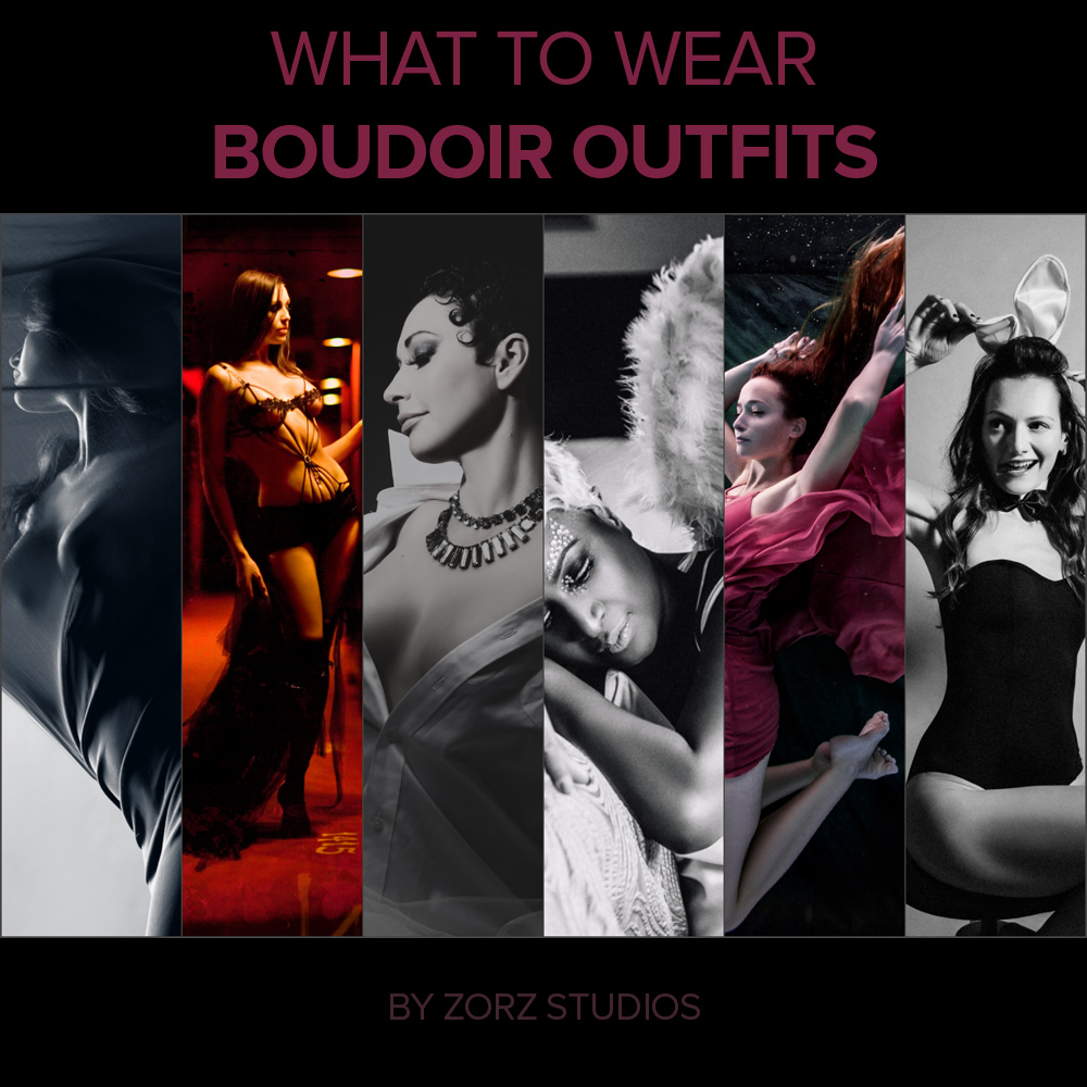 Boudoir Outfits: What to Wear for Boudoir Photoshoot